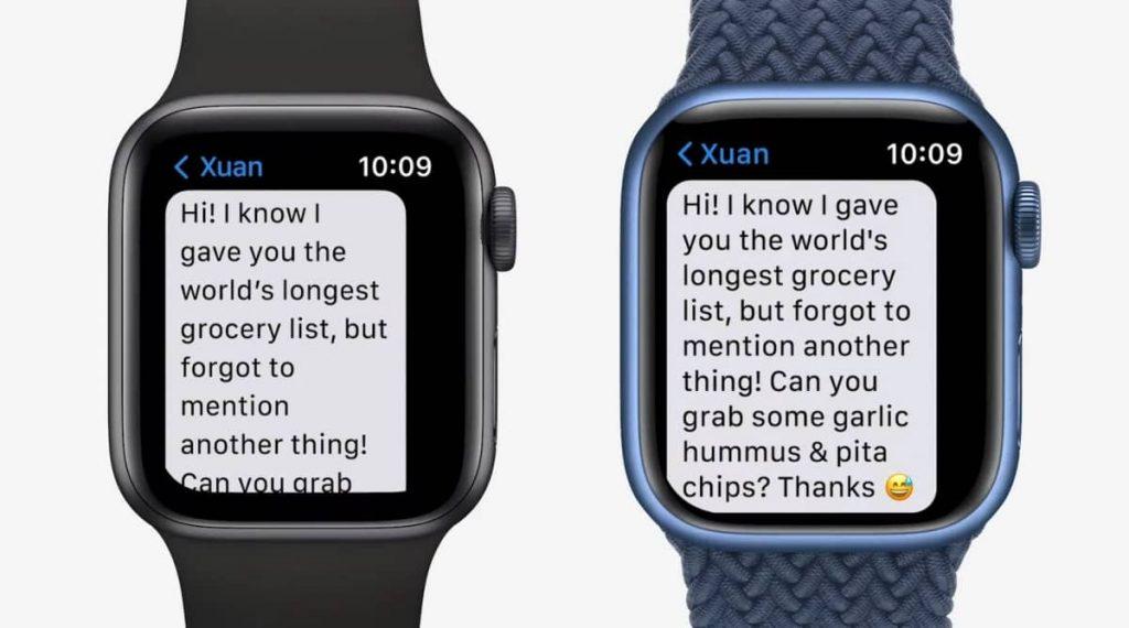 Apple Watch Series 7 has bigger display