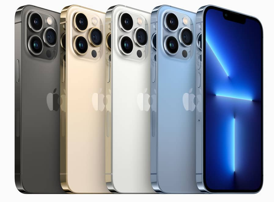 Apple iPhone 13 Pro and iPhone 13 Pro Max