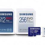 Samsung PRO Plus and Samsung EVO Plus MicroSD Cards announced