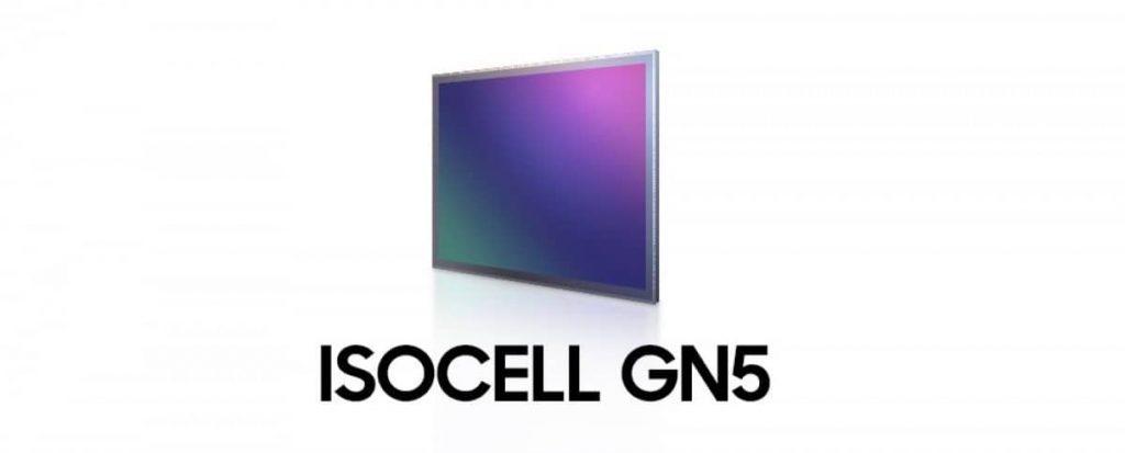 Samsung ISOCELL GN5 50-megapixels 1.0μm sensor