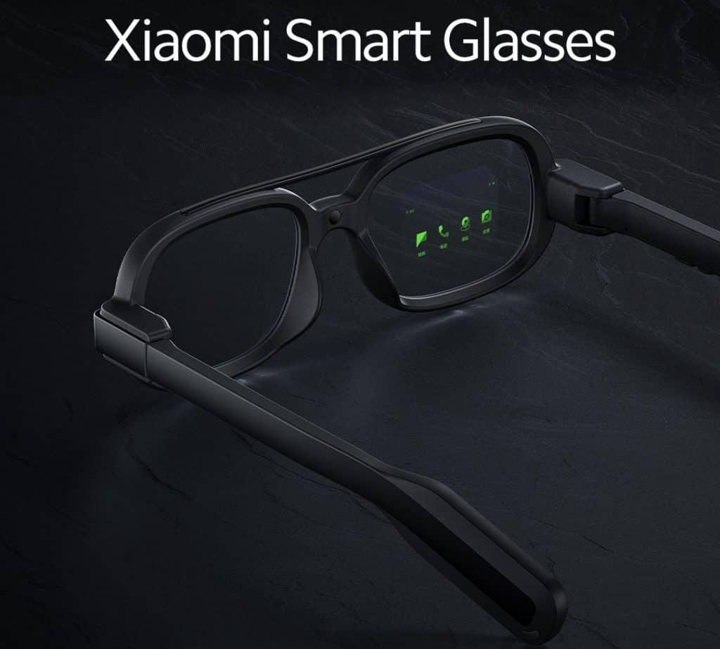 Xiaomi Smart Glasses wearable device concept