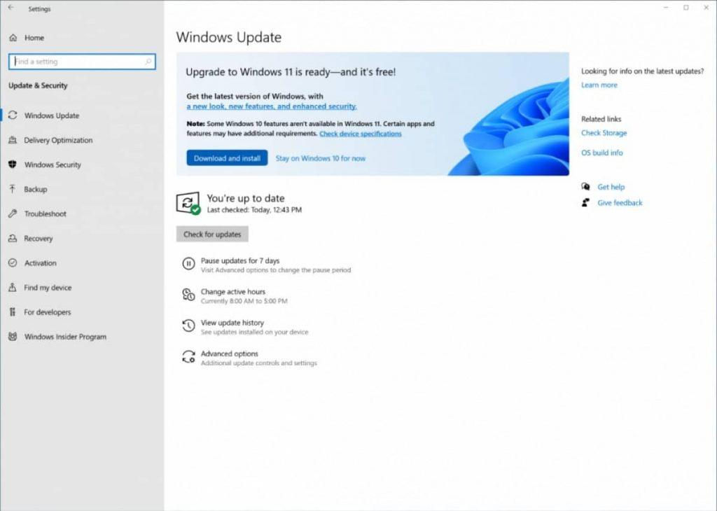 Download Windows 11 OS upgrade